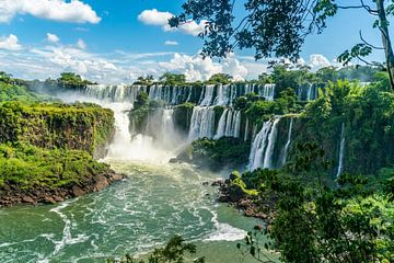 Les chutes d'Iguazu sur Ivo de Rooij