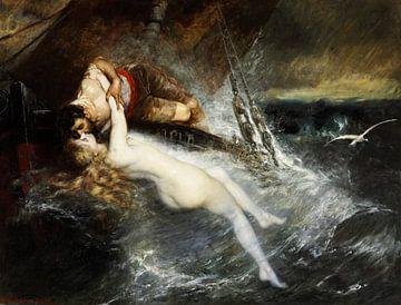 Kuss der Sirene von Atelier Liesjes