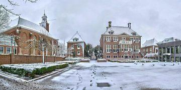 Rathaus Helllevoetsluis von Bob de Bruin