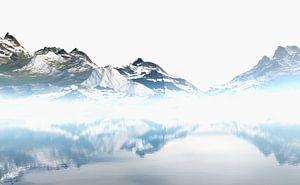 Schneebedeckte Berge 5