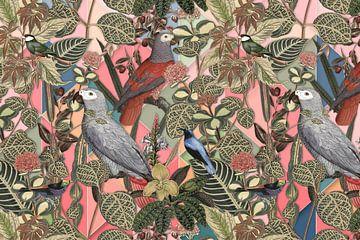 Birds, Birds, Birds – II van Marja van den Hurk