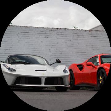 Ferrari's ter waarde van 2 miljoen! van joost prins