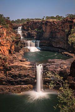 Mitchell Falls - waterval  Australie von Eefke Smets