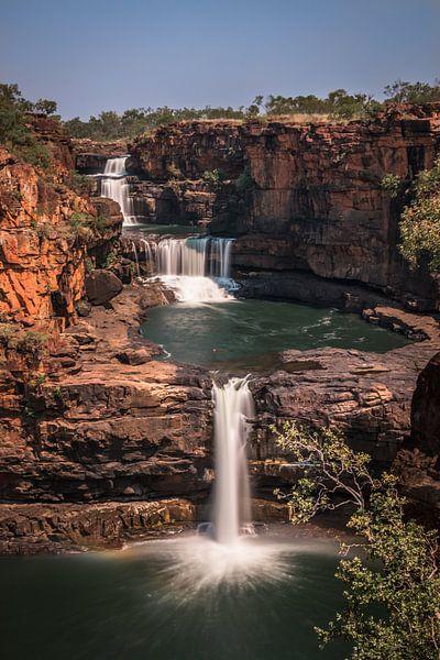 Mitchell Falls - waterval  Australie van Eefke Smets