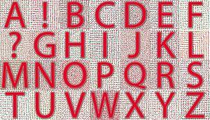 Alphabet No.09 Sommer