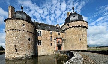 Das Schloss von Lavaux-Sainte-Anne von Eric Sweijen