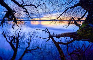 het meer van Starnberg van Einhorn Fotografie