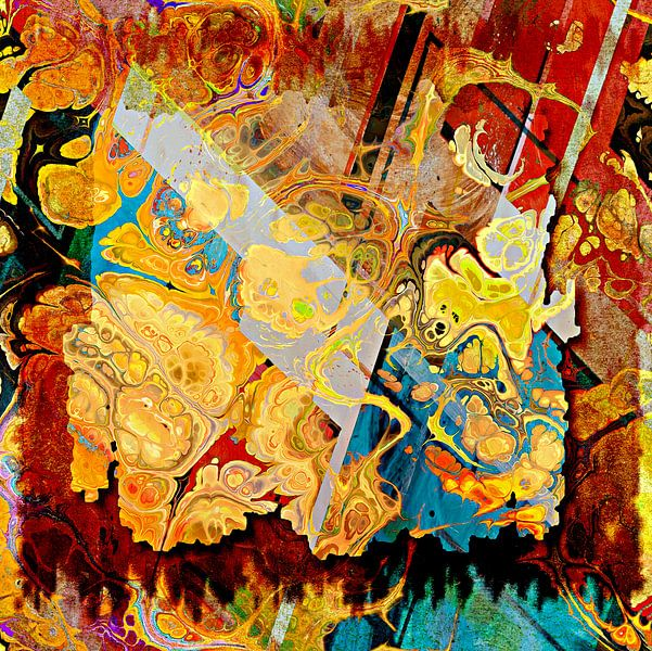 Painting within a painting von PictureWork - Digital artist