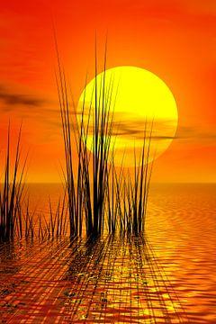 Zonsondergang van Gabi Siebenhühner