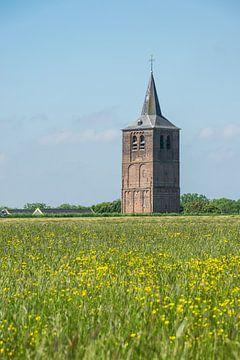 Blick auf die Ouder Toren von Winssen von den Auen aus von Patrick Verhoef