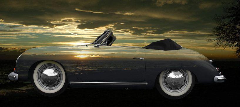 Porsche 356 A 1500 Super on sunset von aRi F. Huber