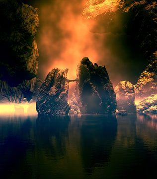 Mystisches Glühen von Angel Estevez