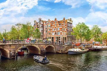 Prinsengracht, Amsterdam van Patrick Ouwerkerk