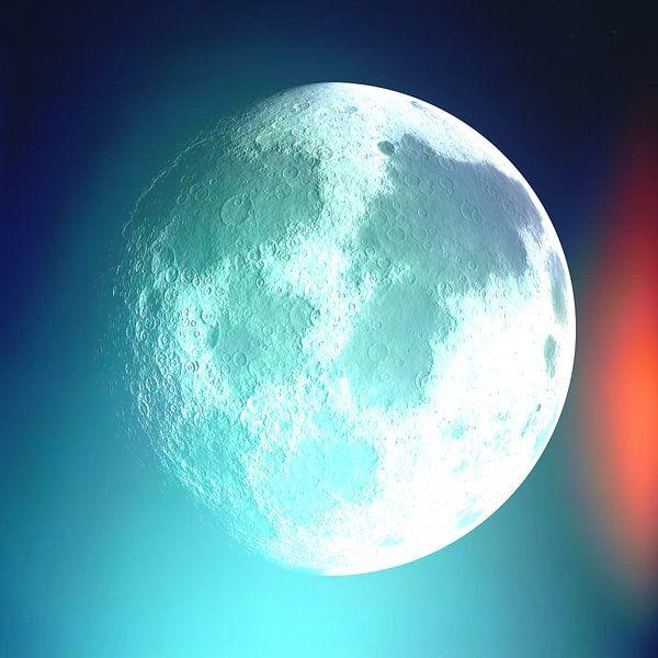 Moon Phase 1 N.4 von Olis-Art