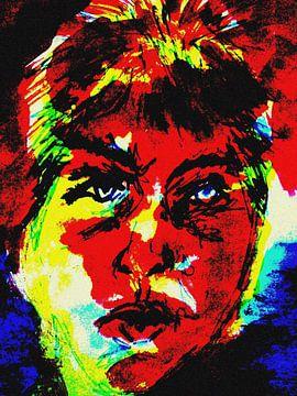 Porträt einer temperamentvollen Frau von Anita Snik-Broeken