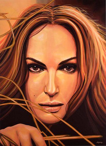 Natalie Portman Schilderij van Paul Meijering