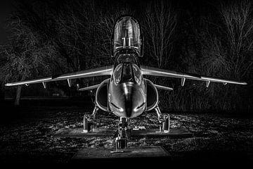 Alpha Jet bij nacht van Kris Christiaens