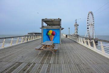 Pier Scheveningen met reuzenrad van My Footprints