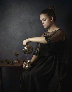 La fille de l'eau sur Anja van Ast