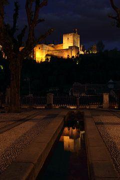 Alhambra Reflection sur Cornelis (Cees) Cornelissen