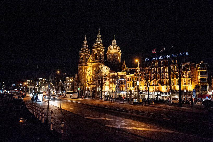 Amsterdam bei Nacht von Brian Morgan