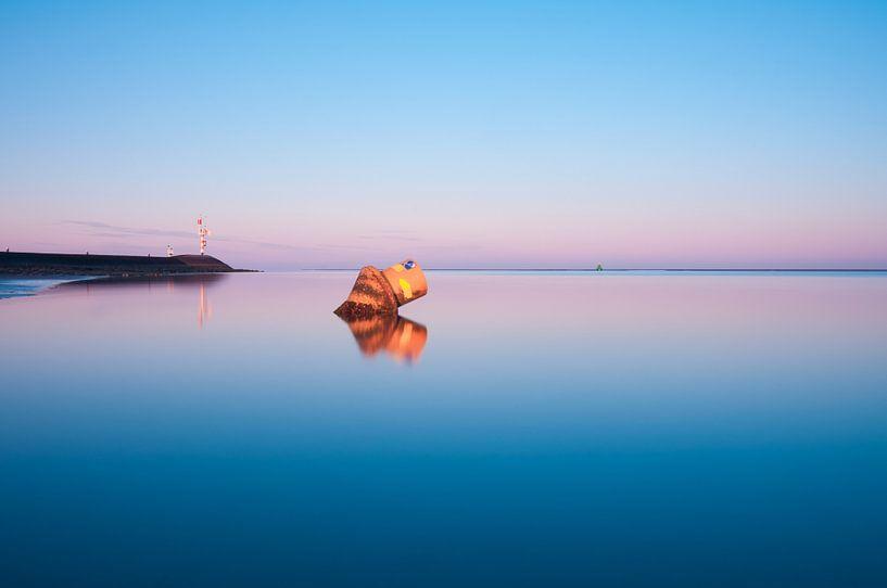 Sunset 2 van Albert Wester Terschelling Photography