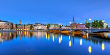 Stockholm Avond van Adelheid Smitt