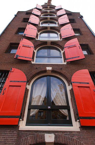 Amsterdam buildings van Brian Morgan