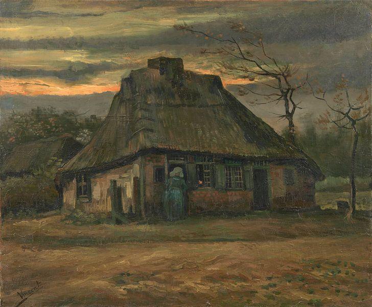 Vincent van Gogh, De hut van 1000 Schilderijen