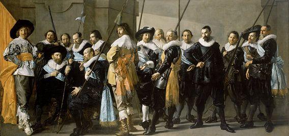 Frans Hals, De Magere Compagnie van Meesterlijcke Meesters