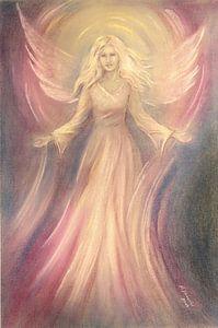 Engel van Hoop - engel het schilderen