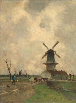 Die Mühle, Johan Hendrik Weissenbruch