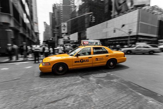 New York City Taxi van Tom Roeleveld