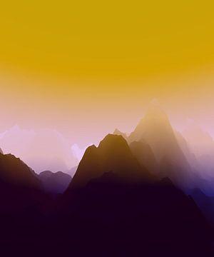 Prachtige bergen 8 van Angel Estevez