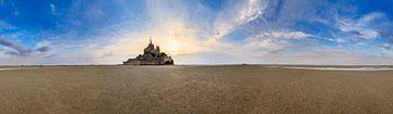 360 Mont Saint-Michel von Dennis van de Water
