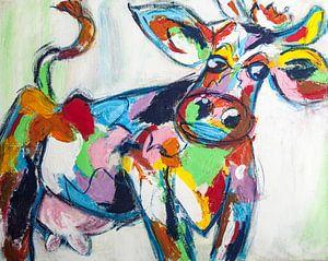 Vrolijke koe