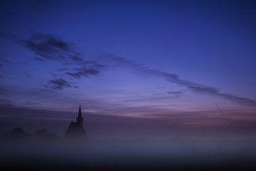 Kerkje van Den Hoorn op Texel. van AGAMI Photo Agency