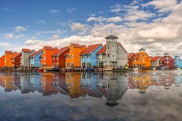 Hafenhäuser Groningen - Reitdiephaven von Sabine Wagner