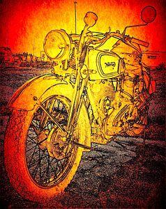 Motorfietsen uit Engeland van Jan Radstake