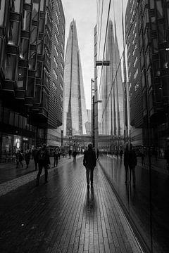 Straße in London von Helga van de Kar