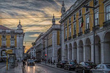 Lissabon 3 - Praça do Comércio von Michael Schulz-Dostal