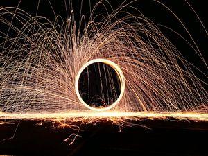 Fire spinning - Een klassieker van