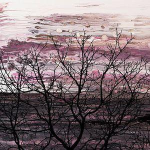 Naked Tree van AJ Art