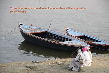 Om de waarheid te kunnen zien, moeten we onszelf... van Cora Unk