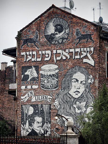 Krakow - Kazimierz Street Art van Alexander Voss