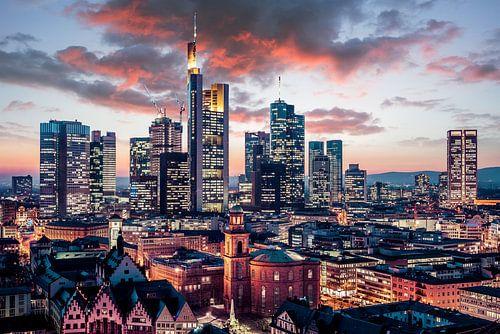 Frankfurt Skyline van