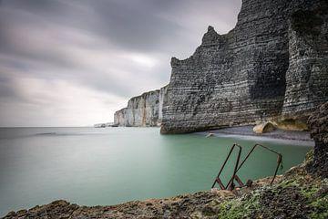 Krijtrotsen bij Etretat Normandië  sur Silvia Thiel