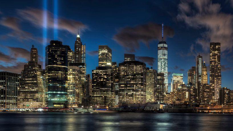Skyline Manhattan New York van Carina Buchspies