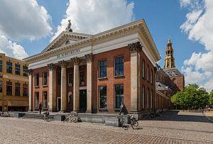 Korenbeurs in Groningen stad op de Vismarkt. Nederland