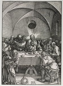 Das letzte Abendmahl, Albrecht Dürer